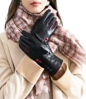 Handbag Bliss Super Soft Leather Ladies Womens Gloves